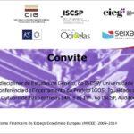 Conferência de encerramento do Projeto IGOS Igualdade de Género: Odivelas e Seixal