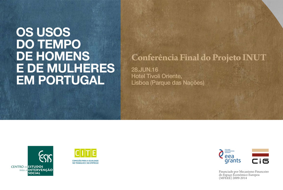 Conferência Final do Projeto INUT (28 jun., Lisboa)