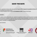 SAVE THE DATE: 4-5 /12/2017 – Seminário Final do Programa PT07 / Final Seminar of the PT07 Programme